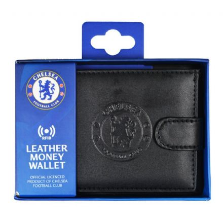 Chelsea RFID Embossed Leather Wallet